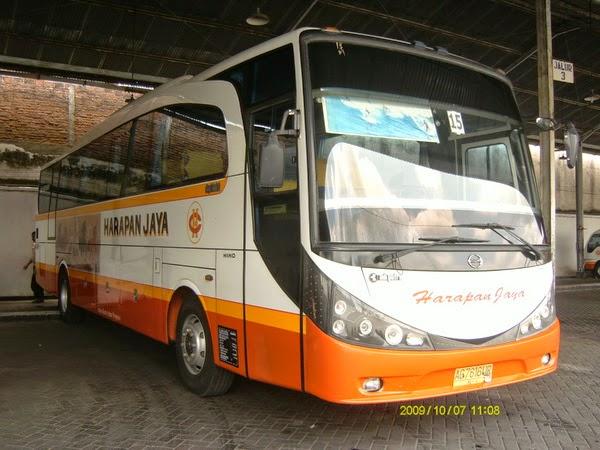 Daftar Harga Tiket bus Harapan Jaya AKDP 2016