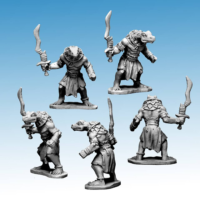 Northstar Miniatures: New Frostgrave Ghost Archipelago Serpentmen!