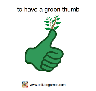 to have a green thumb idiom eslkidsgames.com St Patrick's Day