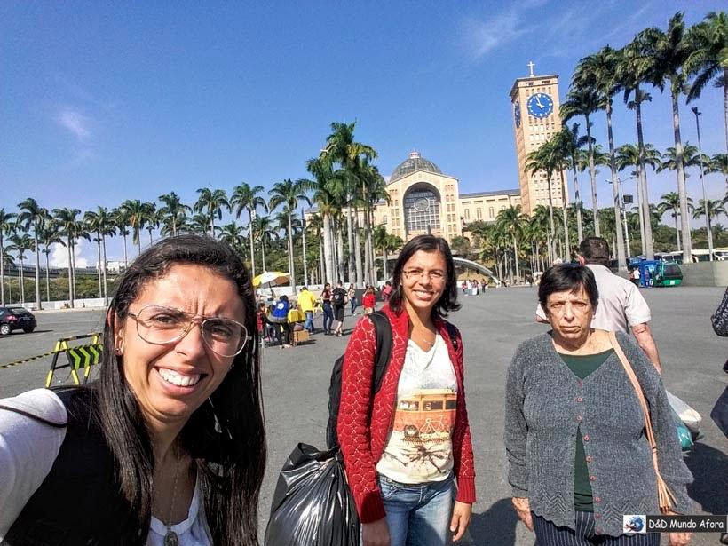 Visita ao Santuário em 2017 - O que fazer em Aparecida - São Paulo