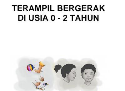 Buku PAUD Parenting Anak Usia 0-2 Tahun Terampil Bergerak Lengkap