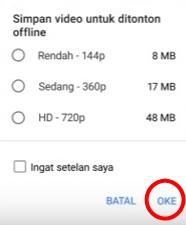 Trik Cara Nonton Video Youtube Offline Gratis Terbaru Lengkap