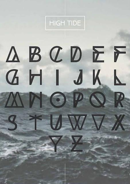 High Tide font