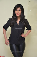 Shruti Haasan Looks Stunning trendy cool in Black relaxed Shirt and Tight Leather Pants ~ .com Exclusive Pics 055.jpg