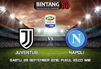 Prediksi Juventus vs Napoli 29 September 2018
