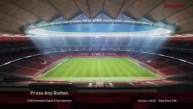 Wanda Metropolitano Start Screen PES 2017