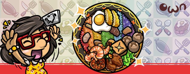 New Recipe: Rainbow Fried Rice!