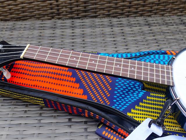 DUKE Banjouke ukulele fingerboard