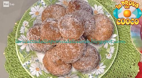 Bomboloni del Perse ricetta Persegani da Prova del Cuoco