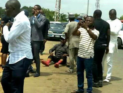 dino melaye rearrested thugs hijacked police escort vehicle
