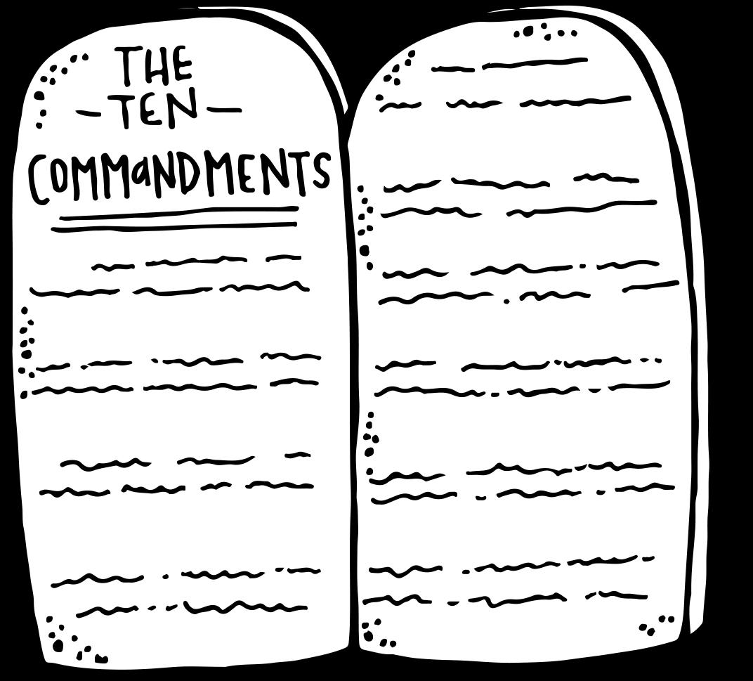 Melonheadz LDS illustrating: Ten Commandments Freebie :)