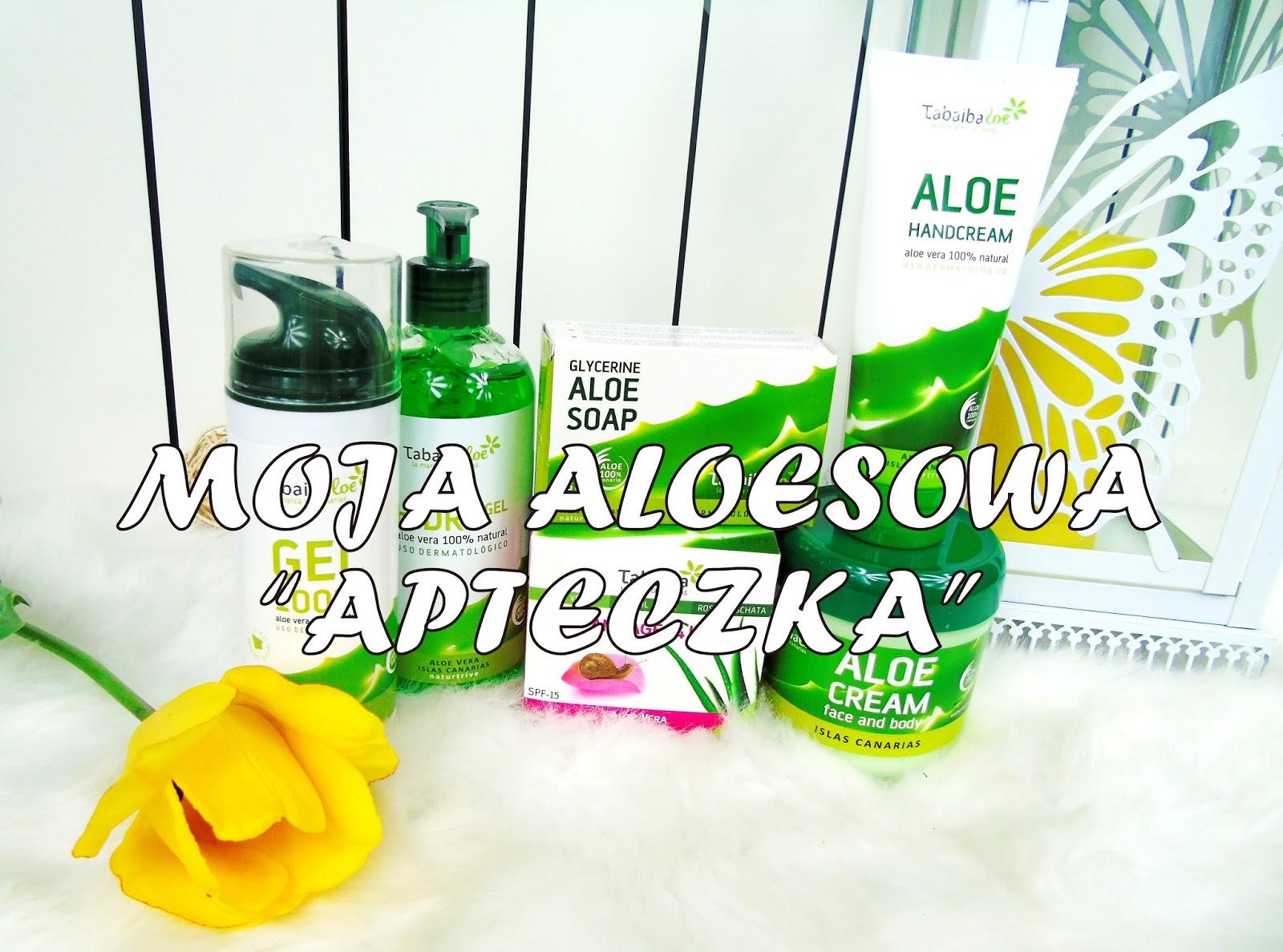 """Moja aloesowa """"apteczka"""" ze sklepu KOLONIALNY.COM"""