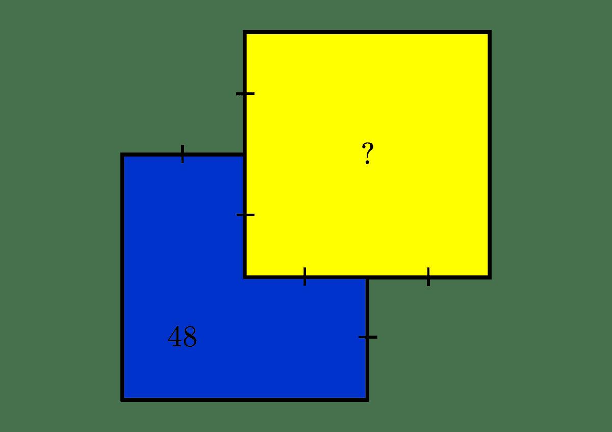 Soal Matematika Persegi yang Tumpang Tindih