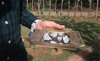 Φωτογραφίες μετά την πτώση μετεωρίτη στην Κούβα