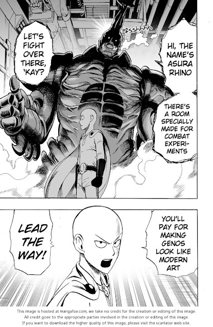 ONE PUNCH MAN CHAPTER 10 Page 8