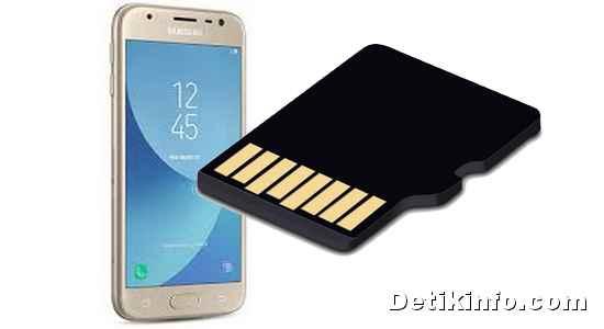 formatting SD Card MicroSD di HP Samsung