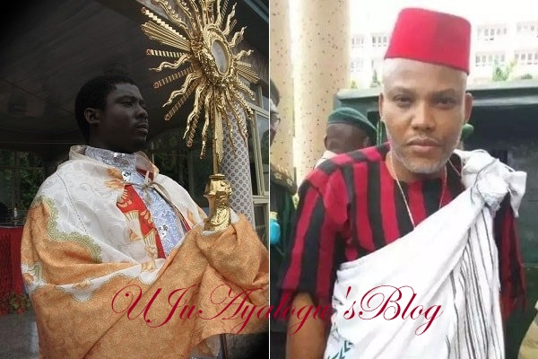 Nnamdi Kanu more prophetic than Mbaka – Fr. Obinma