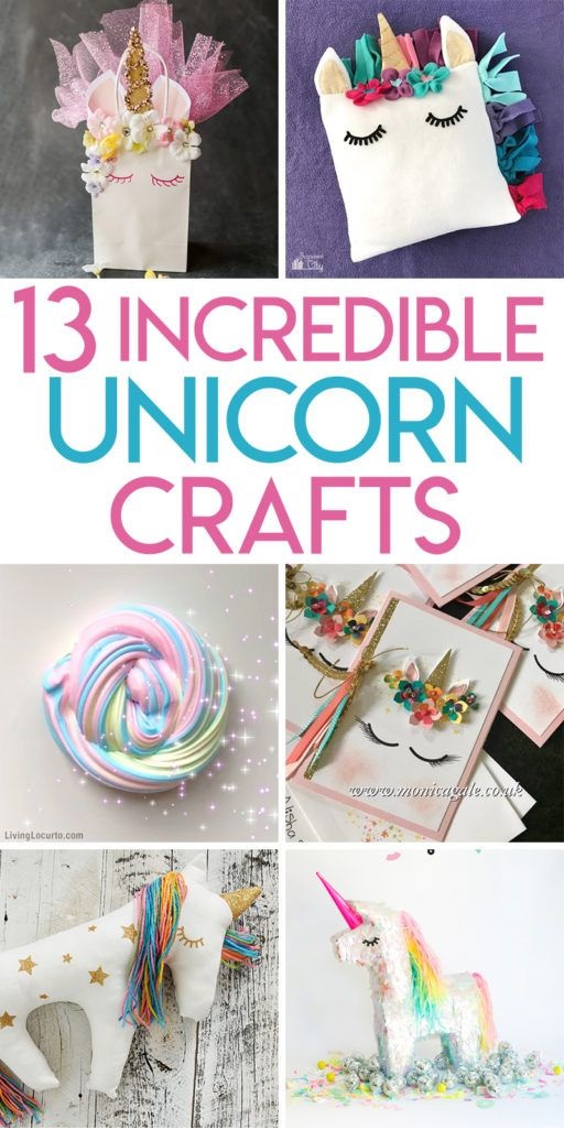 13 Magical Unicorn Crafts To Make