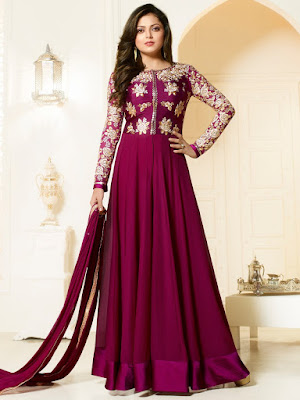 Designer Anarkalis Suits Models