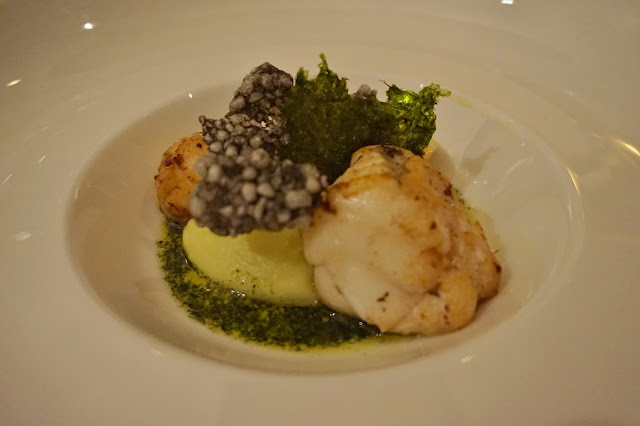 Dine Venues The Mansion Leeds Monkfish starter