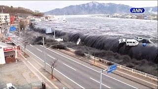 tsunami dijepang