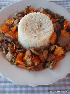 Μπασμάτι με λαχανικά στη λαδόκολλα