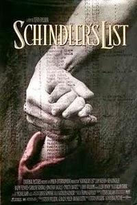 Poster original de La lista de Schindler