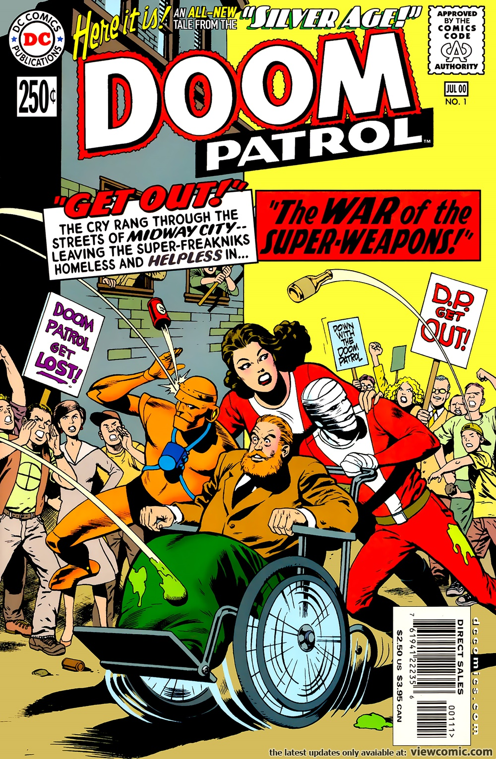 Silver Age – Doom Patrol 01 (2000-07)   Viewcomic reading comics