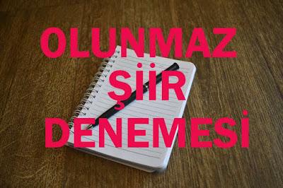 EleştirmenAdam - Olunmaz - Şiir Denemesi