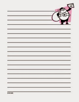 Free Dear Santa Letter Writing Paper