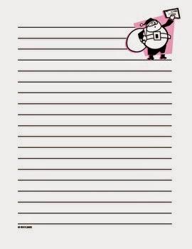 Free Dear Santa Letter Writing Paper