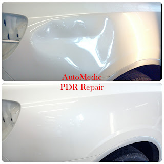 San Marcos AutoMedic Paintless Dent Before and After