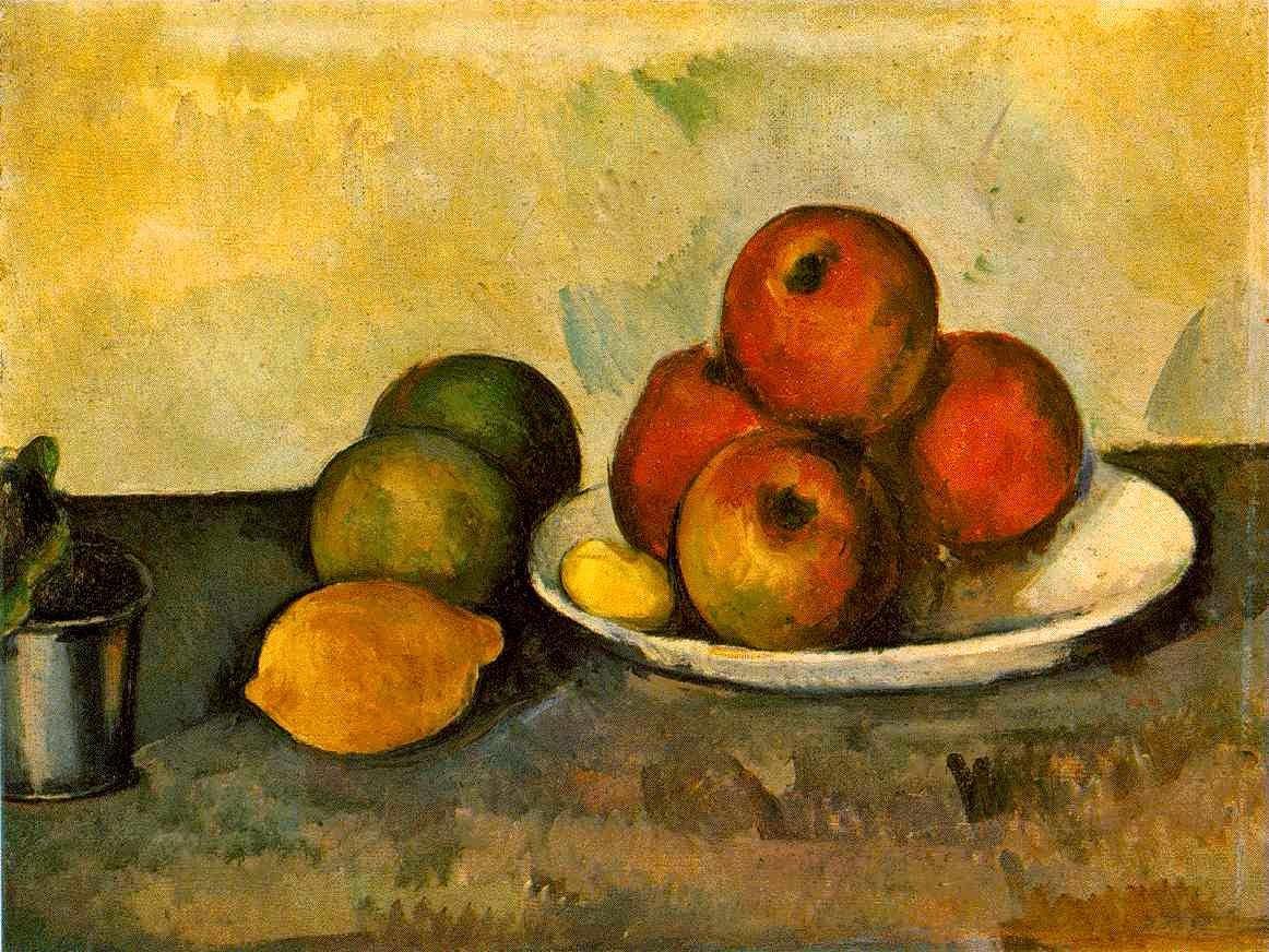 Natureza Morta com Maças - Paul Cézanne e suas principais pinturas ~ O fundador da Arte Moderna