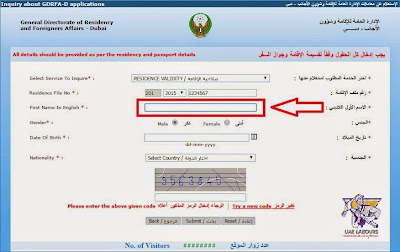 Job visa checking online