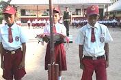 Bhabinkamtibmas Polsek Pasimarannu Selayar Jadi Pembina Upacara Di Sekolah