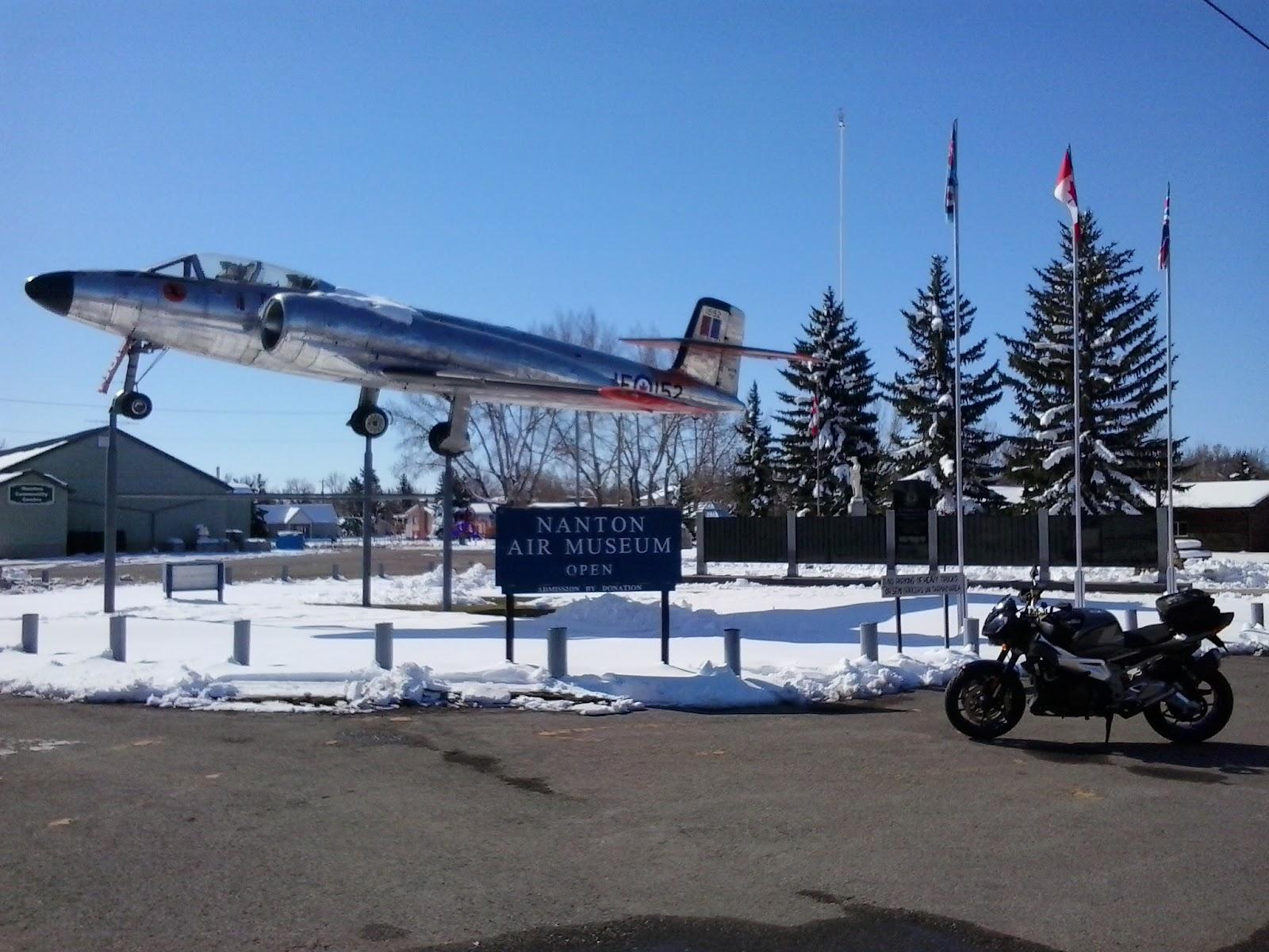 Aprilia Tuono Nanton Air Museum