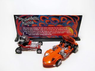 Hot Wheels 100% Psychedelic Relics Twin Mill Red Baron