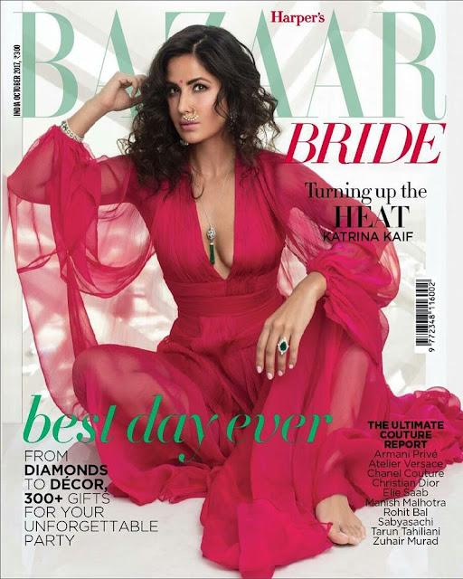Katrina Kaif - Harper's Bazaar Bride Magazine (October 2017)