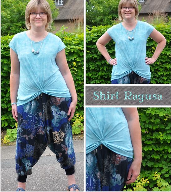 Knotenshirt Ragusa by Schnittquelle