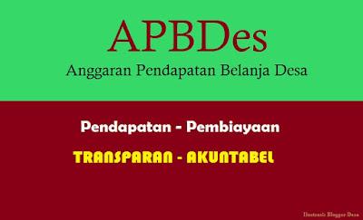 Pertanggungjawaban pelaksanaan APBDes tidak hanya disampaikan kepada pemerintah yang berwenang, tetapi juga harus disampaikan kepada masyarakat desa baik langsung maupun tidak langsung.