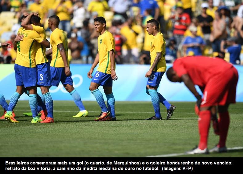 0c5b869ff1 A equipe comandada por Rogério Micale não tomou conhecimento de Honduras