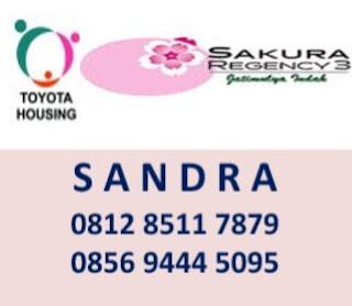 Sales Rumah Sakura Regency 3 Bekasi
