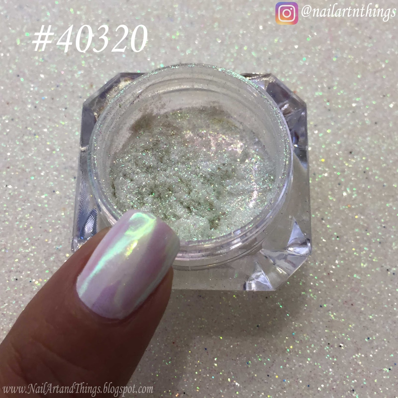 NailArt and Things: Born Pretty Unicorn Mirror Powder