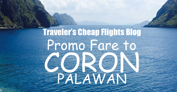 cheap flights to coron palawan2018
