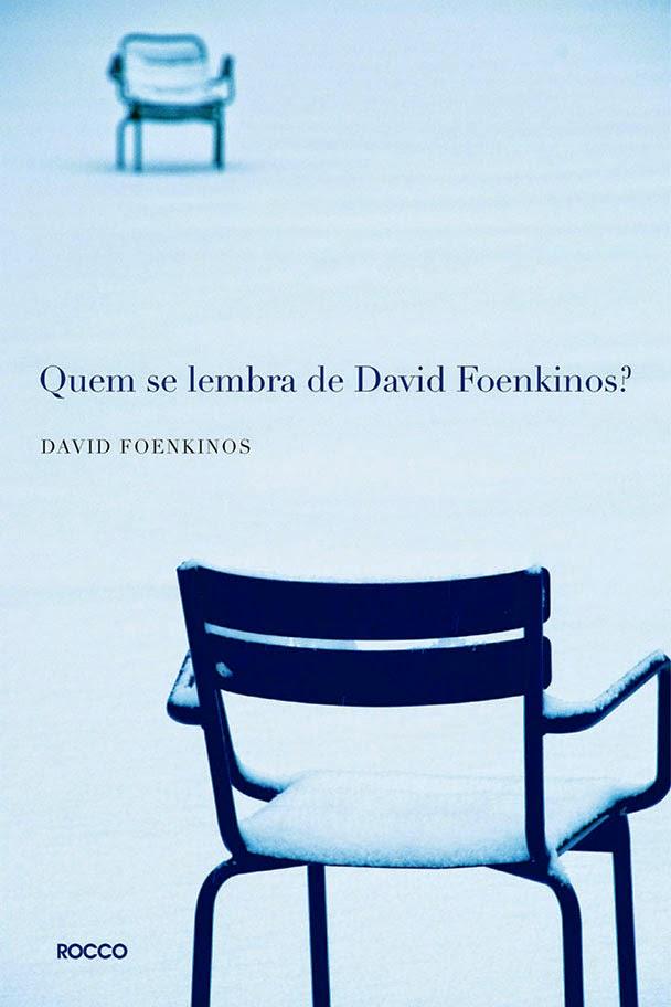 Capa do livro Quem se lembra de David Foenkinos?
