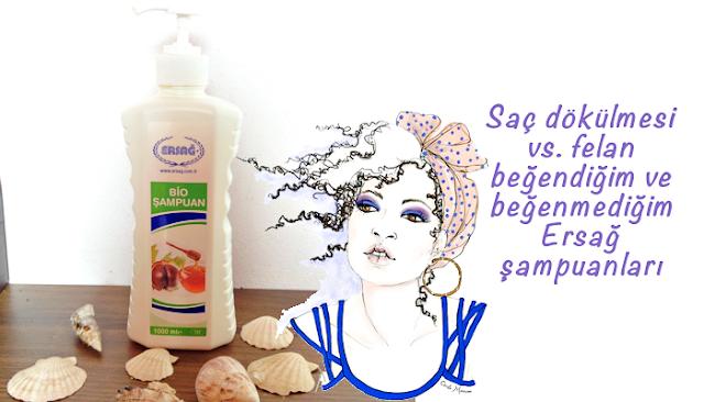 Saç dökülmesi için Ersağ Bio şampuan kullandım