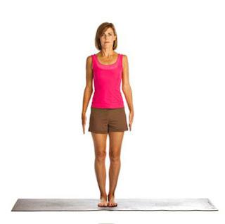 yoga posesmountain pose