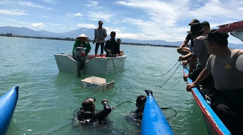 Kapal Karam Milik Polres Pariaman Ditemukan