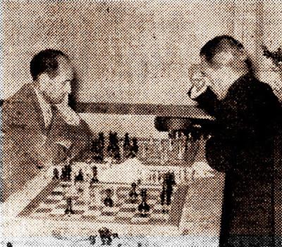 Match en Igualada, Ayuntamiento-Diputación, 1954