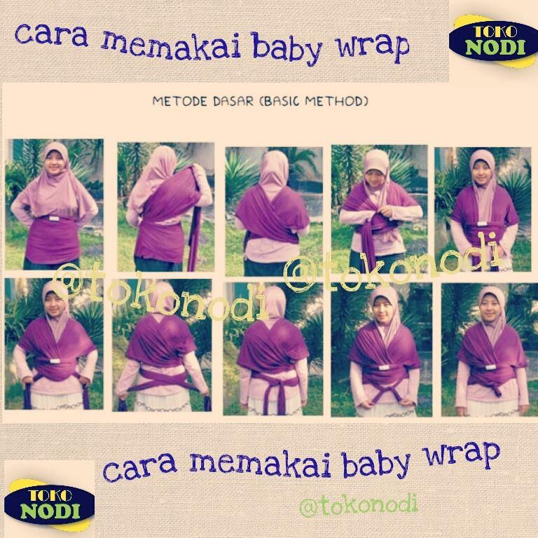 Toko Nodi Hanaroo Baby Wrap
